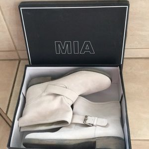 Mia Shoes - New MIA Suede Ankle Boots